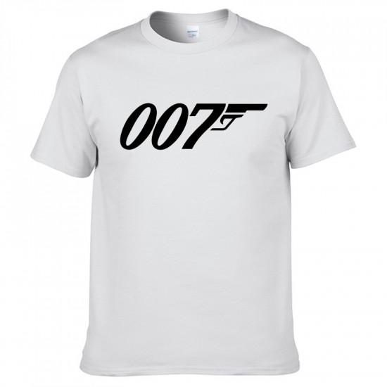 Triko James Bond - 007 (bílé)