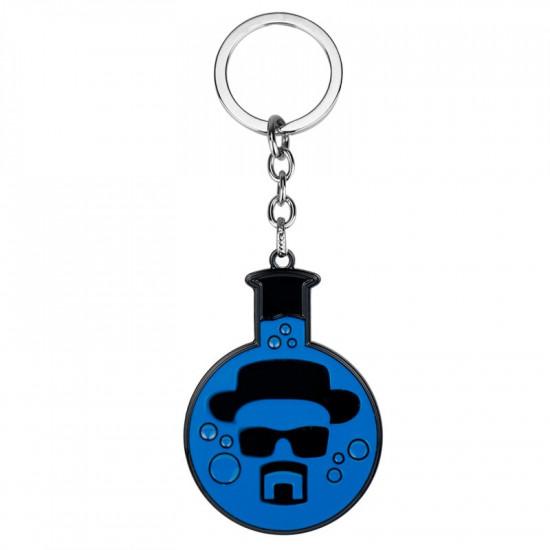 Klíčenka Perníkový táta - Zkumavka (modrá) Breaking Bad