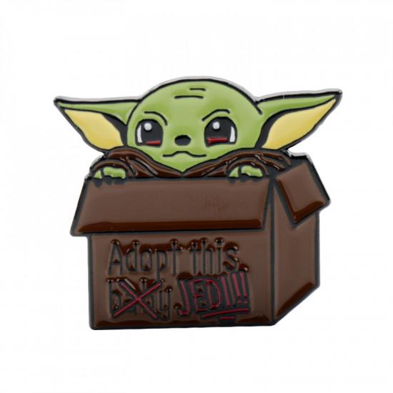 Brož Baby Yoda Adoptuj si Jediho (The Mandalorian)