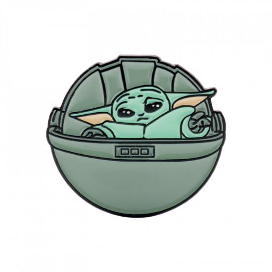 Brož Baby Yoda 2 (The Mandalorian)