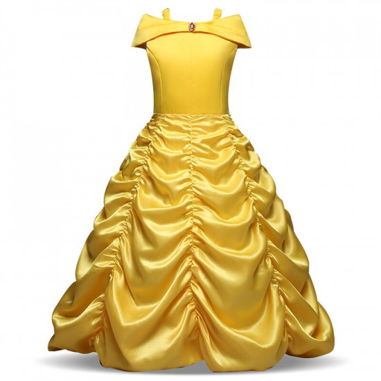 Šaty Kráska a zvíře - Belle