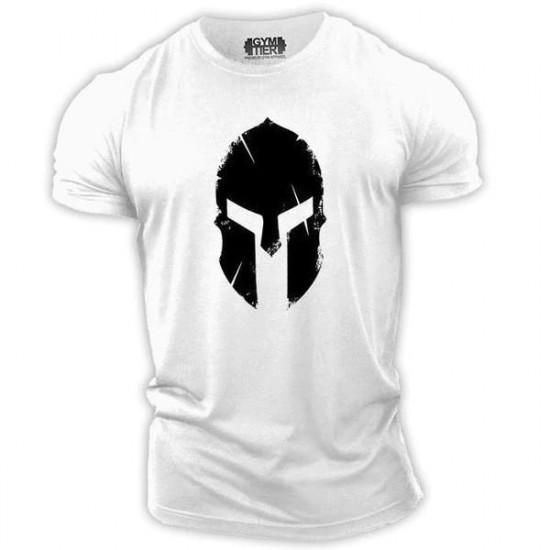 Tričko Sparťan (bílé)