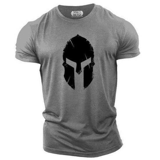 Tričko Sparťan (šedé)