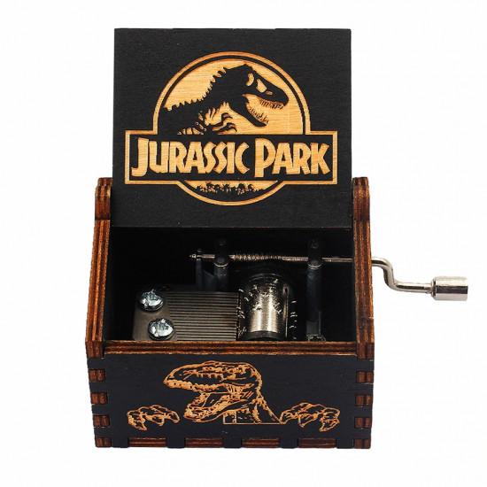 Hrací skříňka Jurský park (černý)