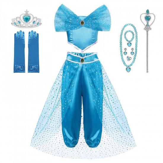 Dětský kostým Aladin - Jasmina s příslušenstvím