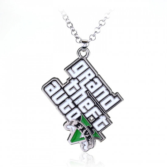 Řetízek GTA V - logo (Grand Theft Auto 5)