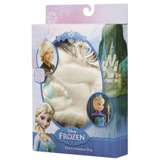 Frozen: korunovační paruka Elsa