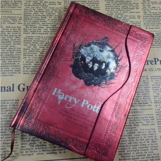 Diář Harry Potter - červený