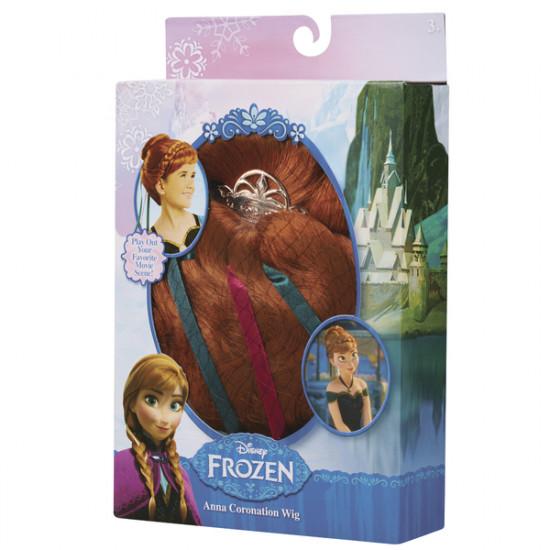 Frozen: korunovační paruka Anna