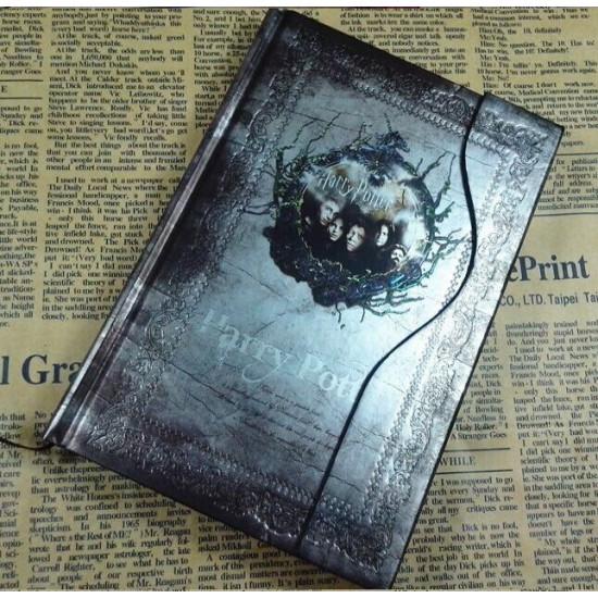 Diář Harry Potter - stříbrný