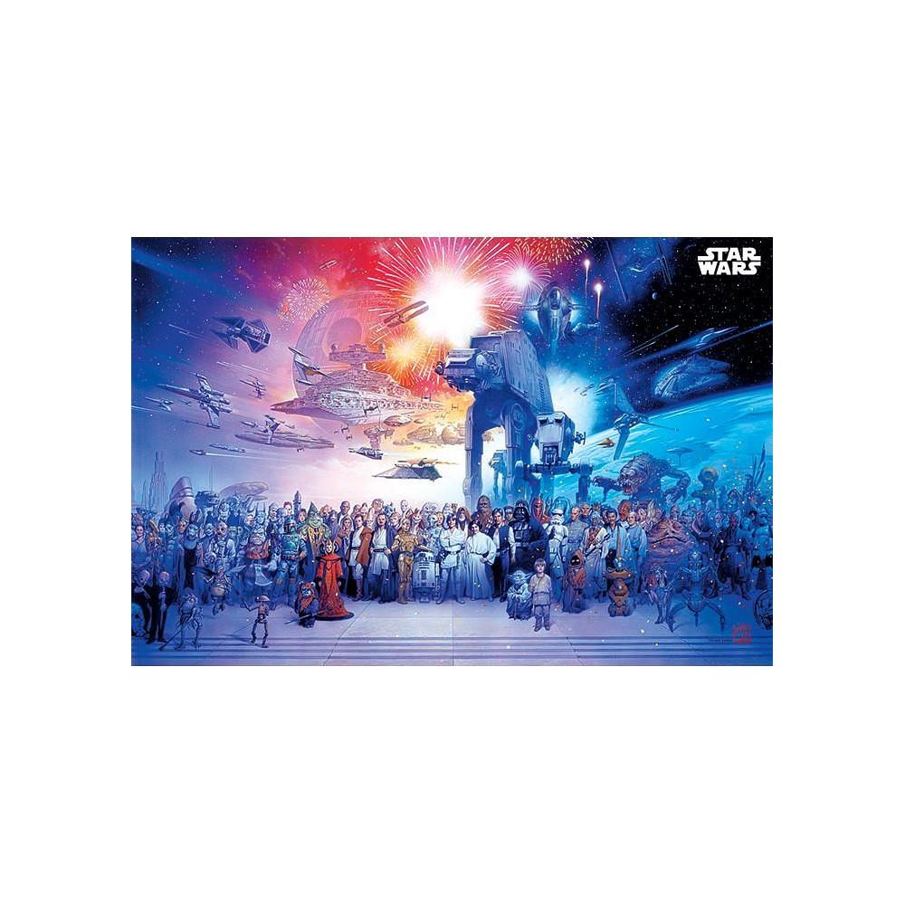 Plakát Star Wars - Universe