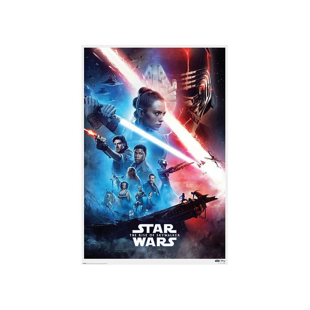 Plakát Star Wars: Rise of Skywalker - Saga