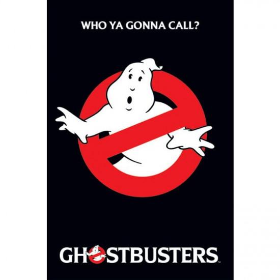 Plakát Ghostbusteres - Logo