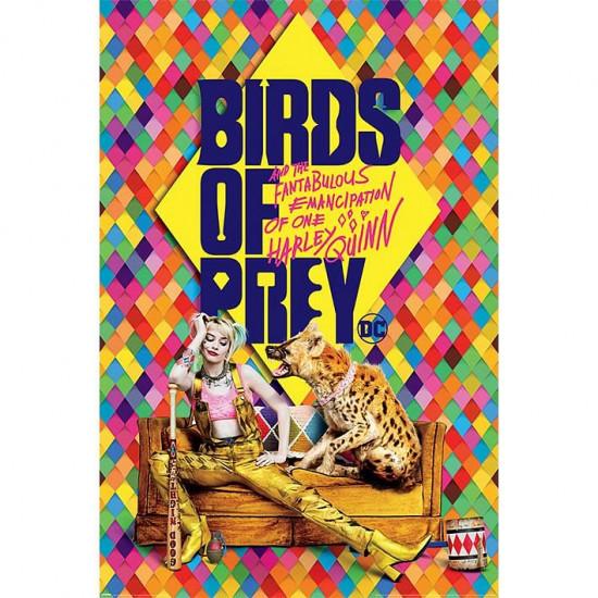Plakát Birds of Prey - Harleys Hyena