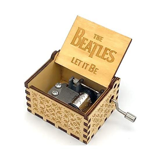Hrací skříňka Beatles -  Let it be