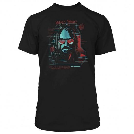 Tričko Cyberpunk 2077 - Digital Ghost