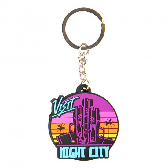 Klíčenka Cyberpunk 2077 - Visit Night City