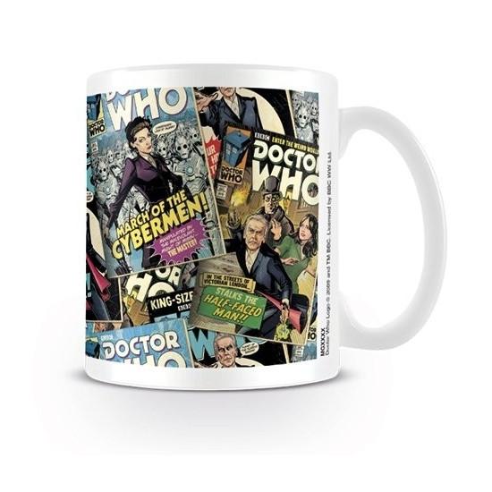 Hrnek Doctor Who (Pán času) - Comics