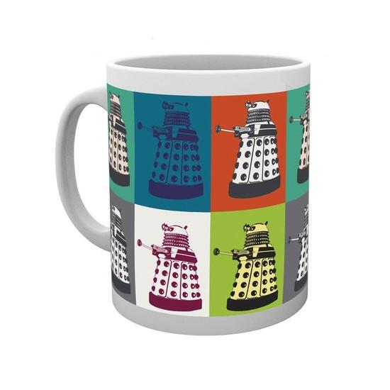 Hrnek Doctor Who (Pán času) - robot