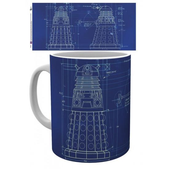Hrnek Doctor Who (Pán času) - robot (2)