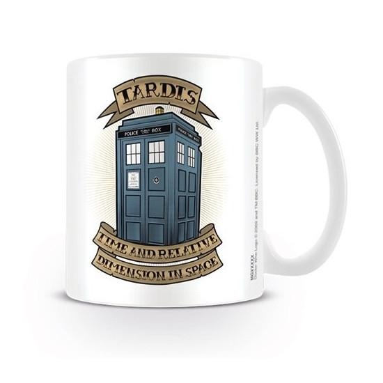 Hrnek Doctor Who (Pán času) - Tardis (3)