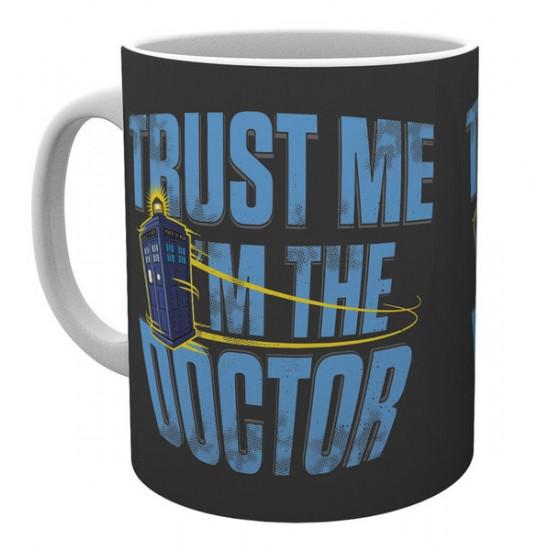 Hrnek Doctor Who (Pán času) - Trust Me I Am The Doctor