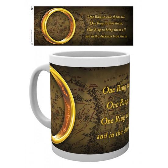Hrnek Pán Prstenů (Lord of the Rings) - Jeden prsten