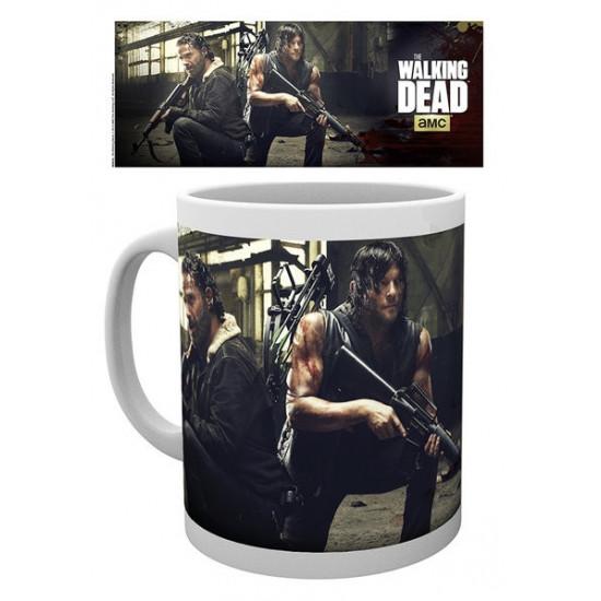 Hrnek The Walking Dead (Živí mrtví) - Daryl a Rick