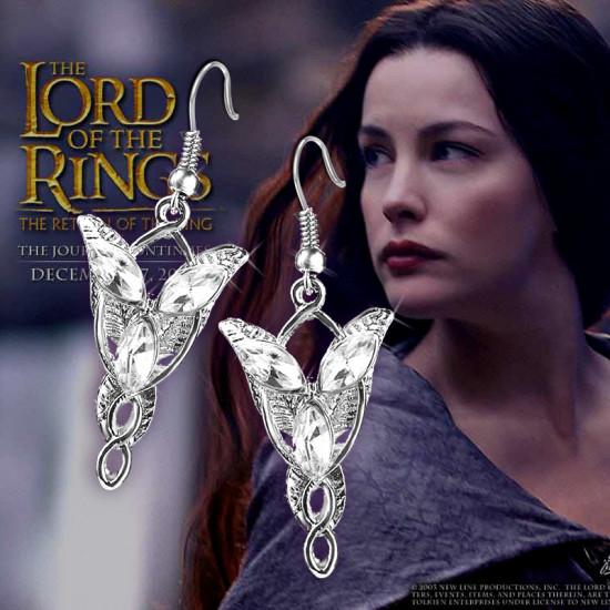 Pán prstenů Arwen náušnice Večernice