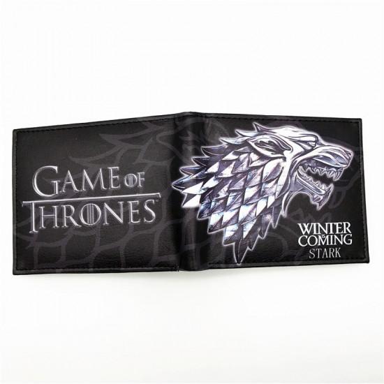 Peněženka Hra o trůny (Game of Thrones) - Winter Is Coming (Stark)