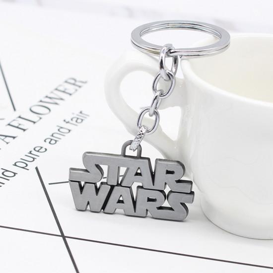 Klíčenka Star Wars - logo (stříbrné)