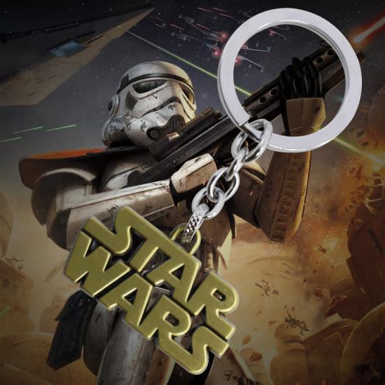 Klíčenka Star Wars - logo (zlaté)