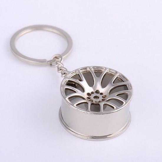 Klíčenka Rychle a zběsile - disk (stříbrný)