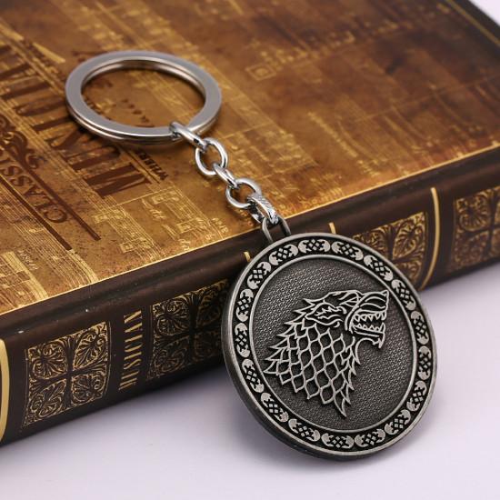Klíčenka Game of Thrones (Hra o trůny) - Stark mince