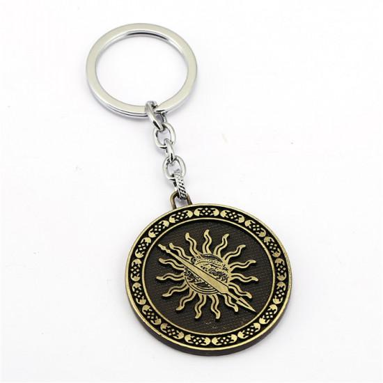 Klíčenka Game of Thrones (Hra o trůny) - Tyrell mince (bronzová)