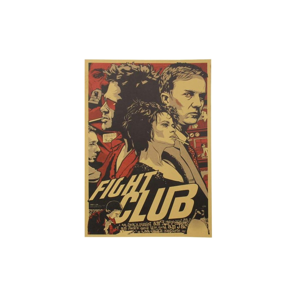 Plakát k filmu Klub rváčů (Fight Club)