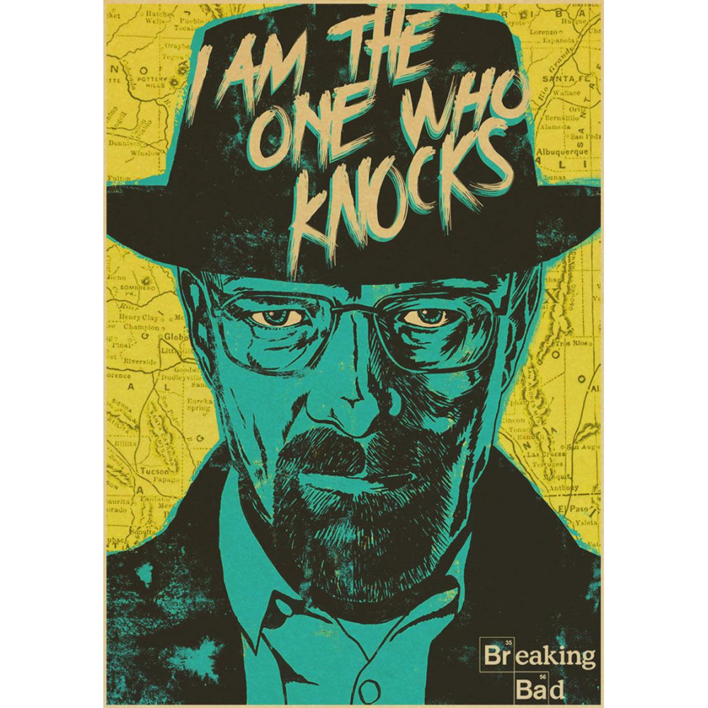 Plakát k filmu Breaking Bad (Perníkový táta)