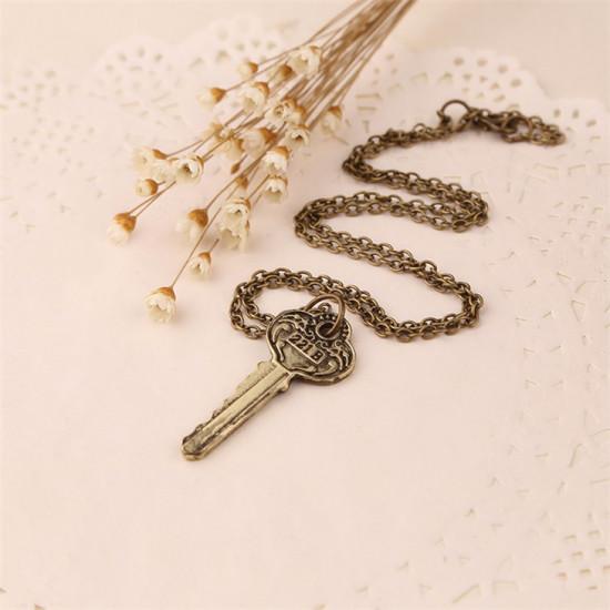 Náhrdelník Sherlock Holmes –klíč 221B bronzový