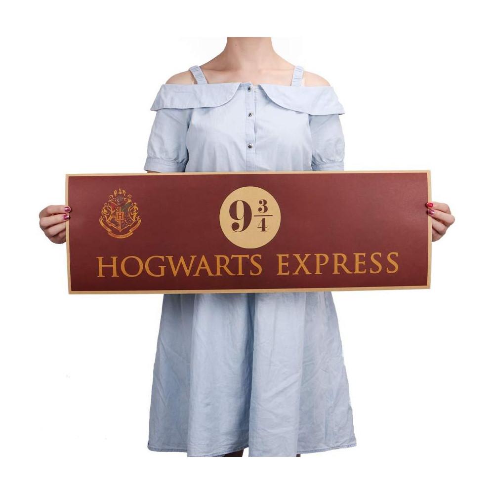 Plakát Harry Potter - nástupiště 9 ¾