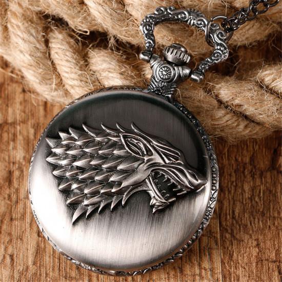 Kapesní hodinky Game of  Thrones  (Hra o trůny)  – Stark
