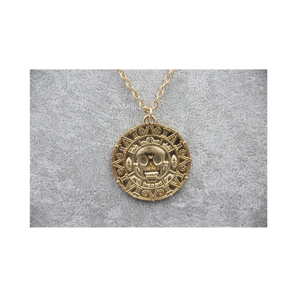 Řetízek Piráti z Karibiku - Mince (zlatá)