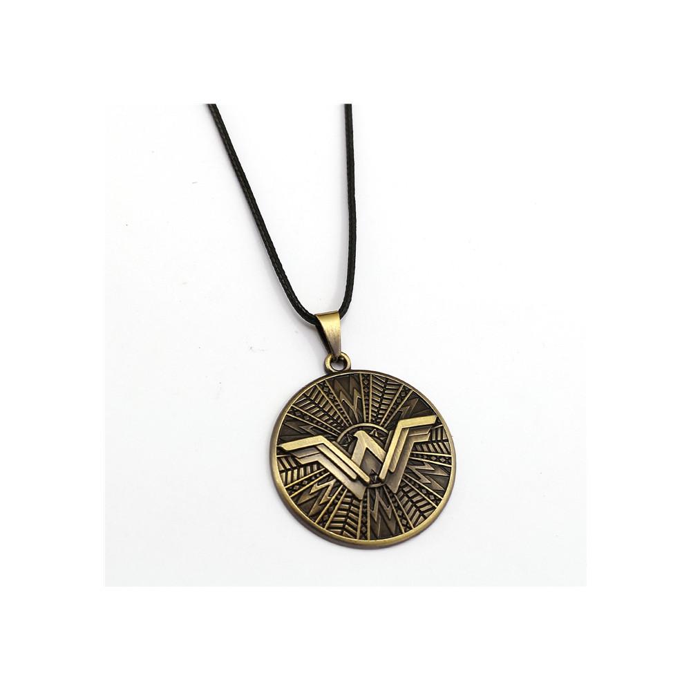 Řetízek Wonder Woman - štít logo