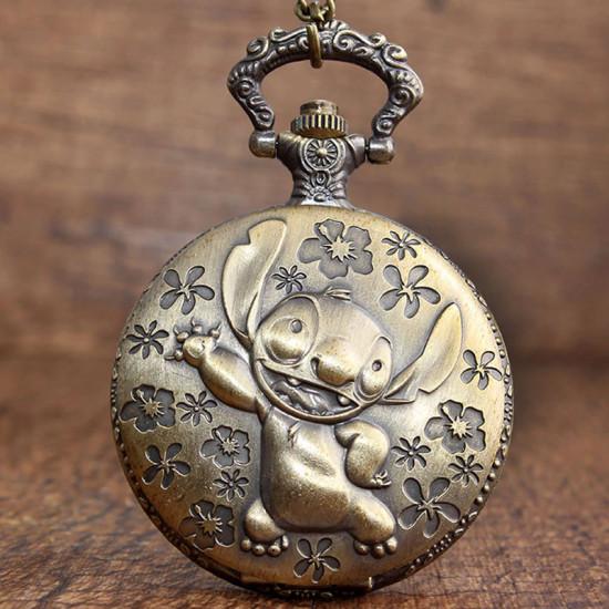 Kapesní hodinky - Lilo a Stitch