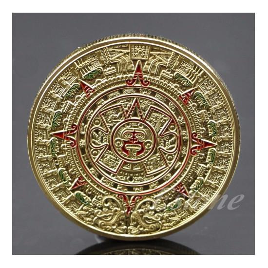 Mince Aztécké zlato - Mayský kalendář