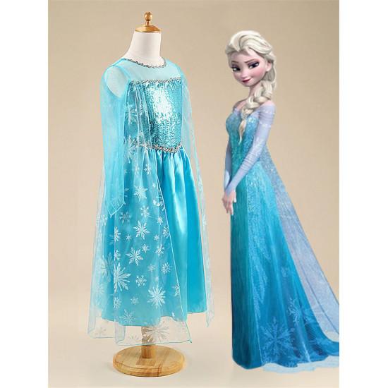 Dětský kostým Ledové Královstí - Princezna Elsa