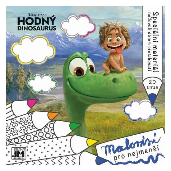 Malování pro nejmenší Hodný dinosaurus