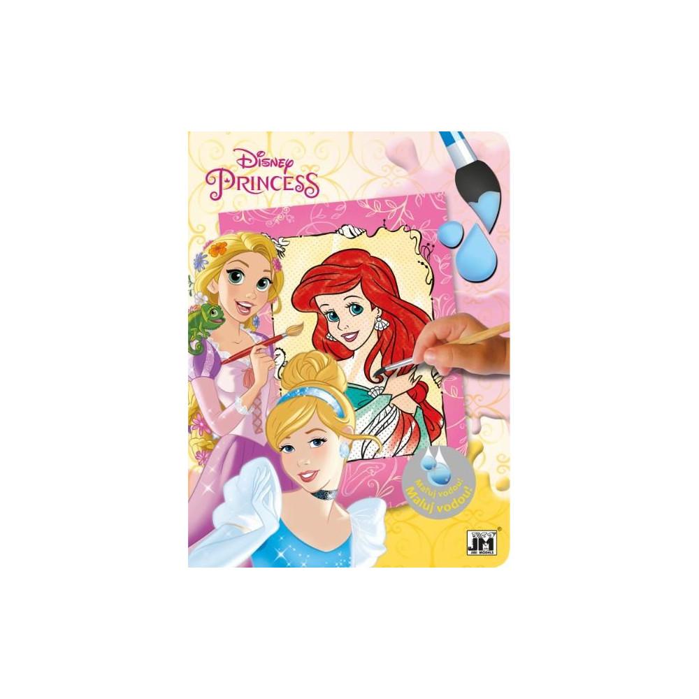 Omalovánky maluj vodou Disney Princezny