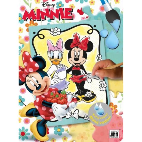 Omalovánky maluj vodou Minnie