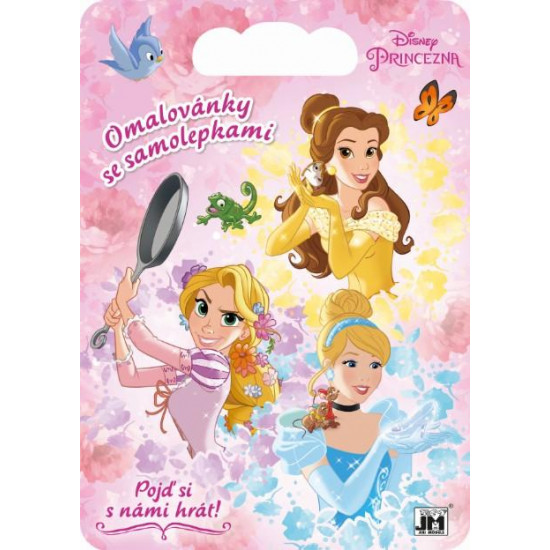 Kreativní bloky se samolepkami Disney Princezny