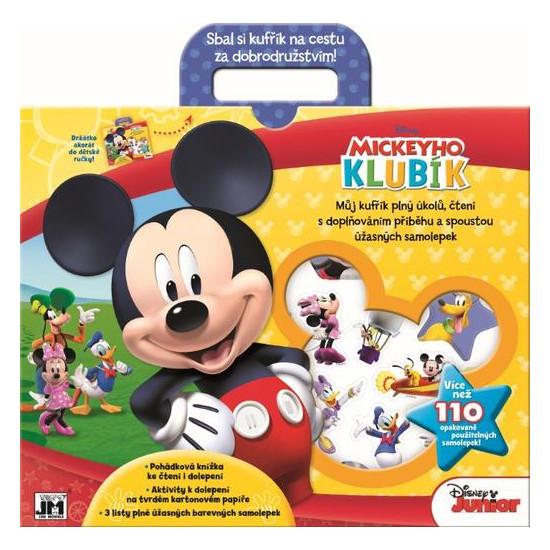 Zábavné kufříky Mickeyho klubík
